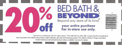 bed bath and beyond coupon. Black Bedroom Furniture Sets. Home Design Ideas