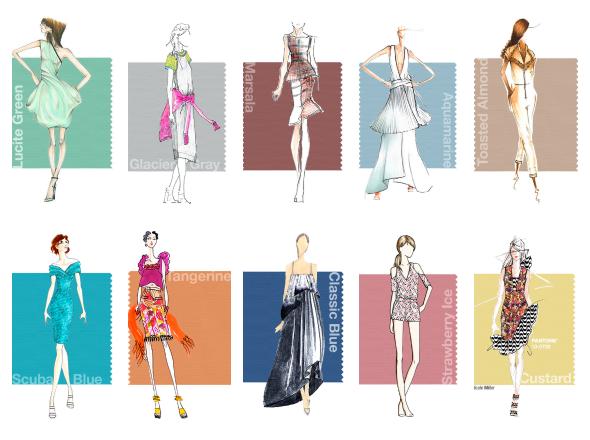 avance Moda Primavera Verano 2015 colores