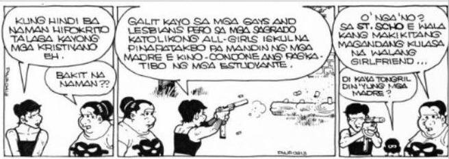 You offended? Image courtesy of Philippine Daily Inquirer.