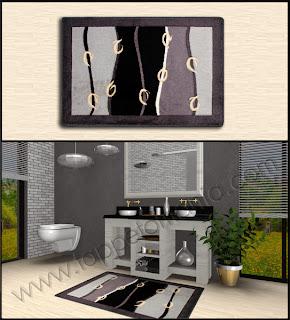 Tappeti moderni immagini e ambientazioni 3d bollengo - Tappeti moderni bagno ...