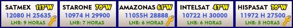 SES4 22W  TP 12036 V 6510  E INTELSAT 21 58W  TP 12055 V 15900 PARA SATLINK  WS-6906.