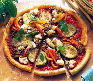 Oktay Usta Kıymalı ve Sebzeli Pizza Tarifi Kıyamlı Pizza Tarifi Sebzeli Pizza Tarifi