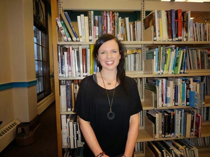 Amy Jones, New e-writer in Residence