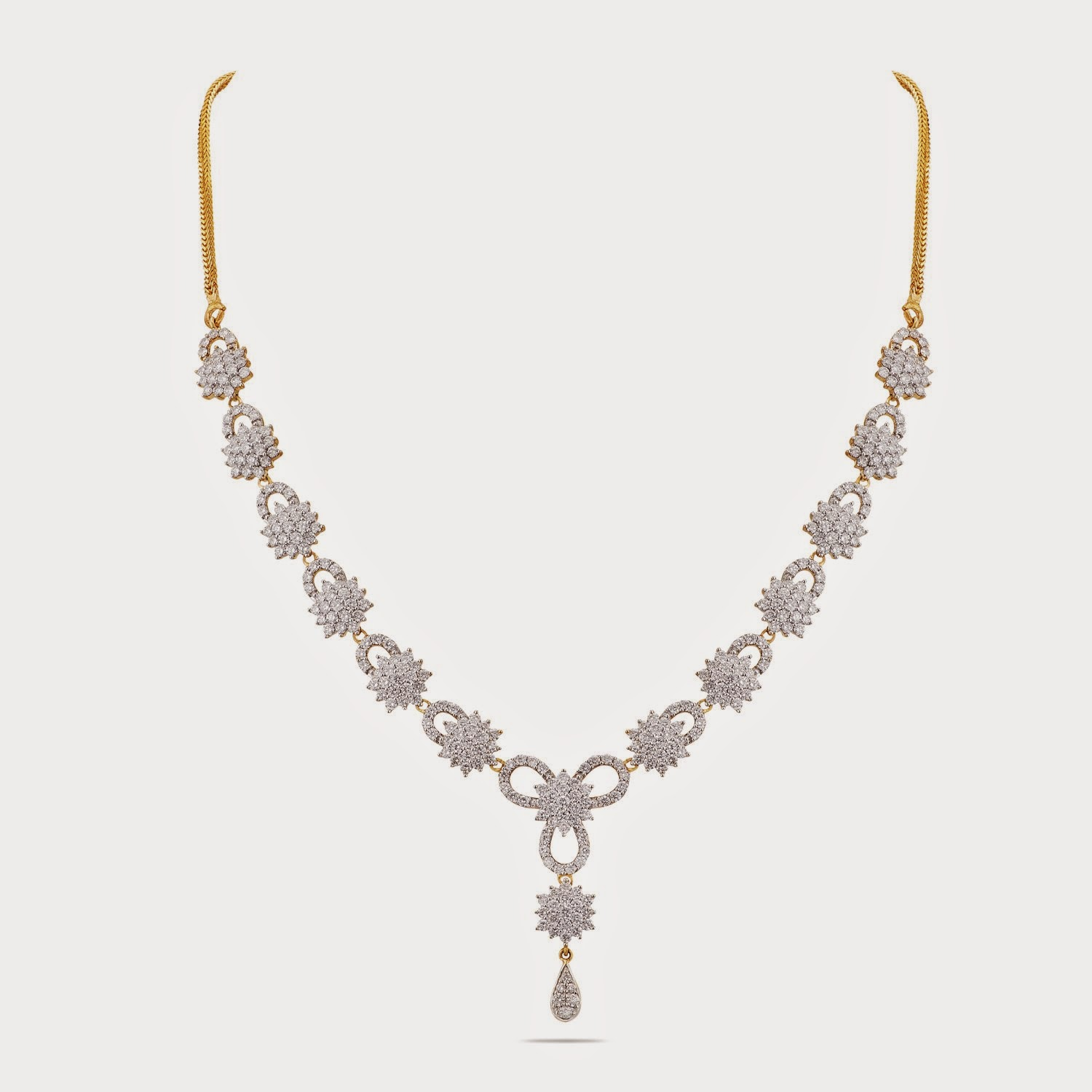 Thangamayil Diamong Necklace Designs