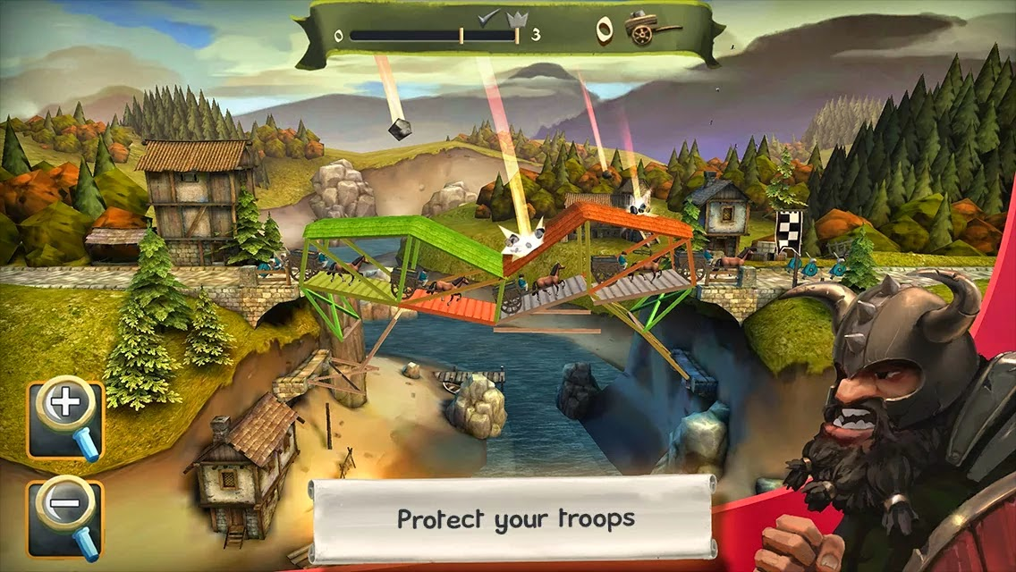 Bridge Constructor Medieval v1.0 APK DOWNLOAD