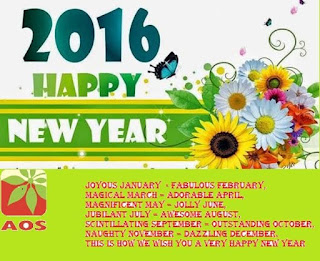 aos product wishes Happy new years 2016