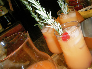 Rudolph's Tipsy Spritzer  from Katie-Kate's Kitchen