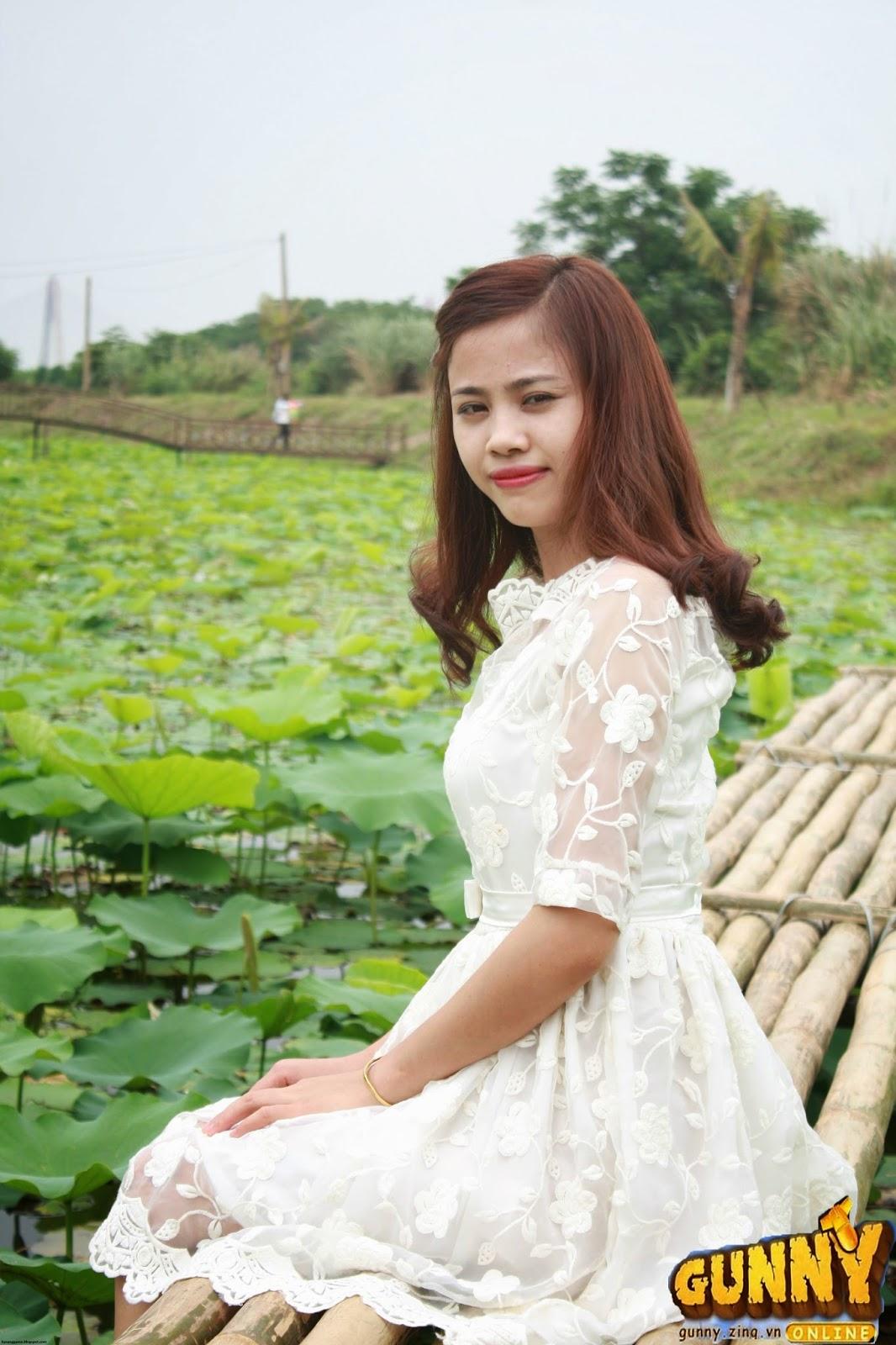 Thí sinh dự thi Nữ Hoàng Cổ Động Nguyễn Thị Thủy 1