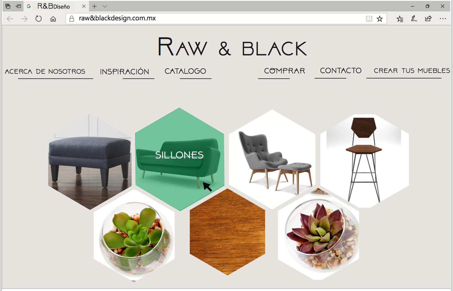 Raw Black Servicio De Interiores Personalizados Tendencias  # Tendencia Raw Muebles