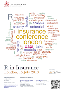 Submit a talk for the first R in Insurance conference