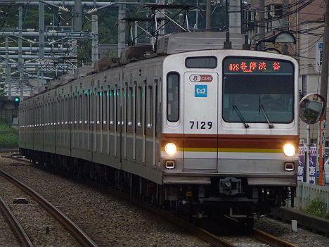 東京メトロ副都心線 各停 渋谷行き1 7000系