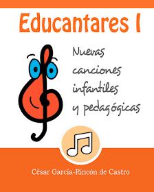 Educantares: los tres cuadernos didácticos con letras y partituras ya disponibles en Amazon