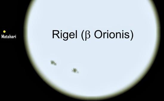 Rigel, Bintang Paling Terang di Rasi Bintang Orion