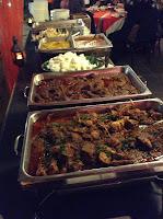 Sajian Hidangan Hari Raya Restoran Rebung