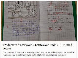 http://www.titline.fr/alecole/production-decrit-avec-ecrire-avec-ludo/
