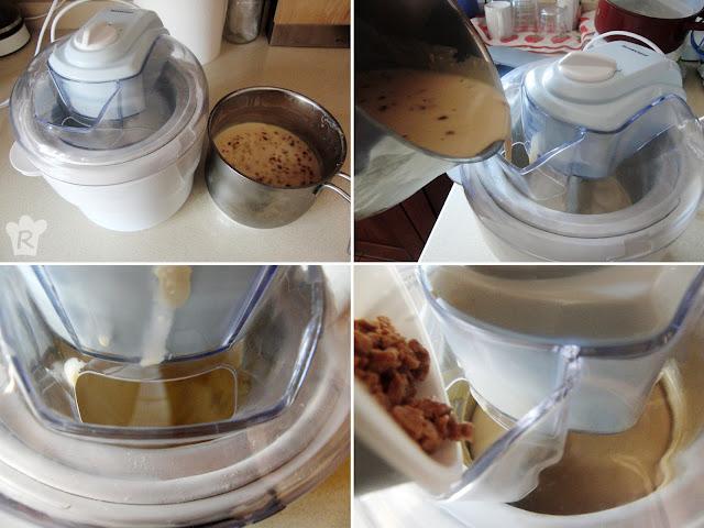 Bate en la heladera y añade los 'tropezones'