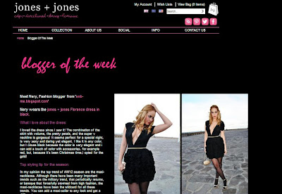 blogger of the week, jones and jones