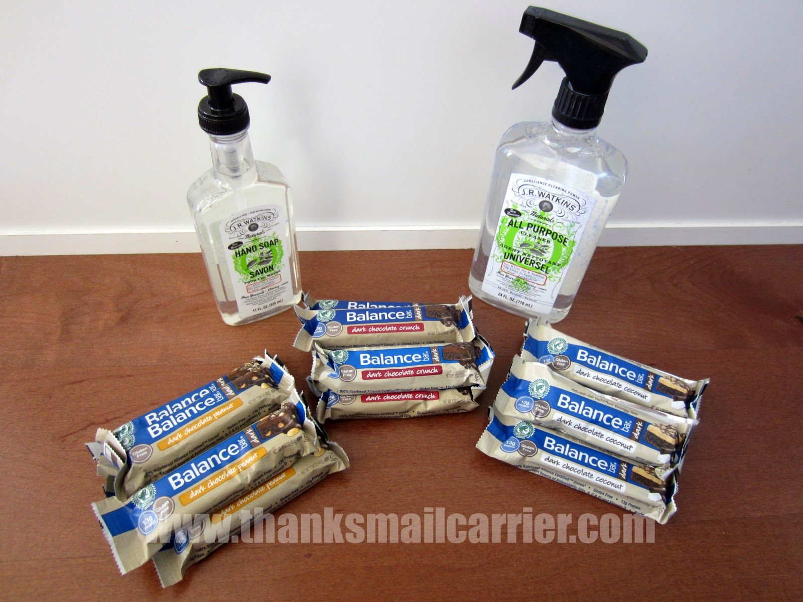 Balance Bar spring cleaning giveaway