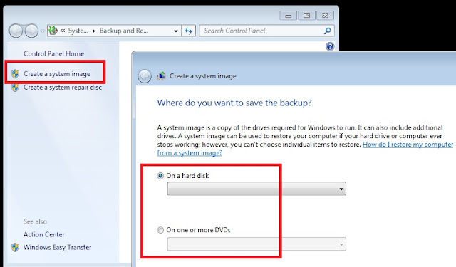 Cara backup data dan restore windows 7 b