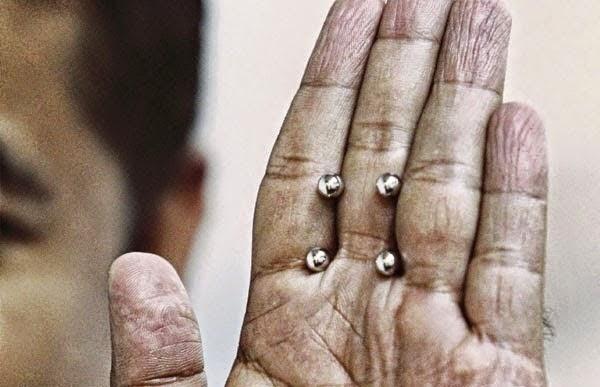 PELIK Hilang Kejantanan Akibat Guna Bebola Besi