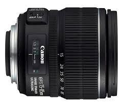 Lensa Canon EF- S ini 15 - 85mm f/3.5-5.6 IS USM
