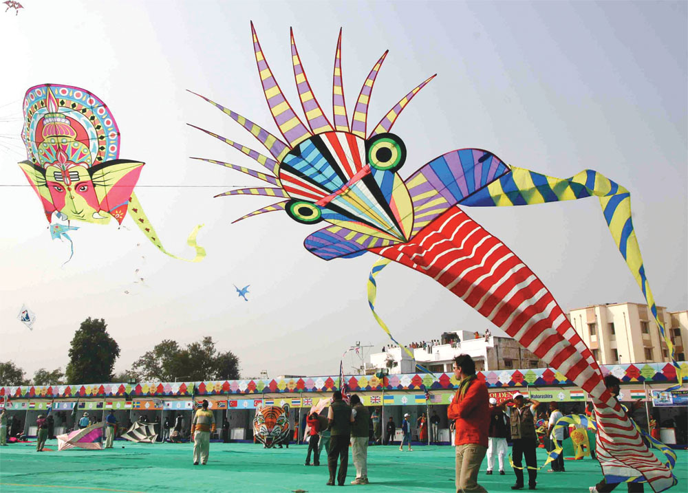 Festival Of India: Internation Kite Festival in Ahmedabad 2013
