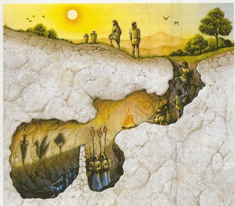El Mito de la Caverna   Platon