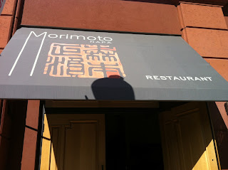 Morimoto Napa California Sushi BBQ Barbecue Barbeque Eel Iron Chef