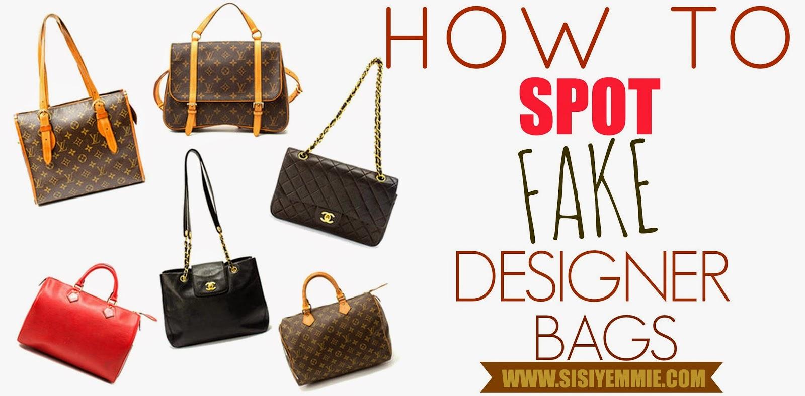 Fake Designer Bag 4 Ways To Spot One
