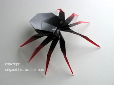 awesome spider origami