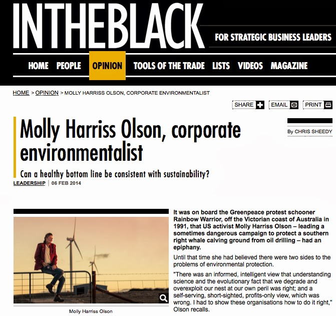 http://www.itbdigital.com/opinion/2014/02/06/molly-harriss-olson-corporate-environmentalist/