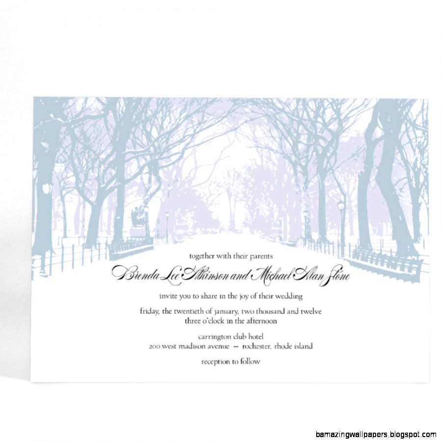 How Winter Wedding Invitations Are Worth Your Effort   Best