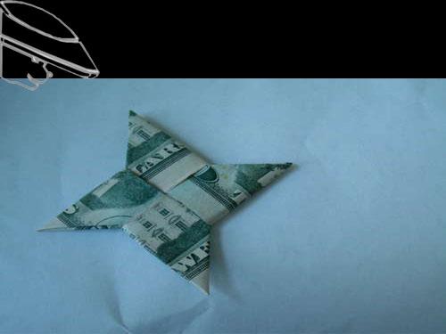 Hd gấp phi tiêu bằng tiều giấy