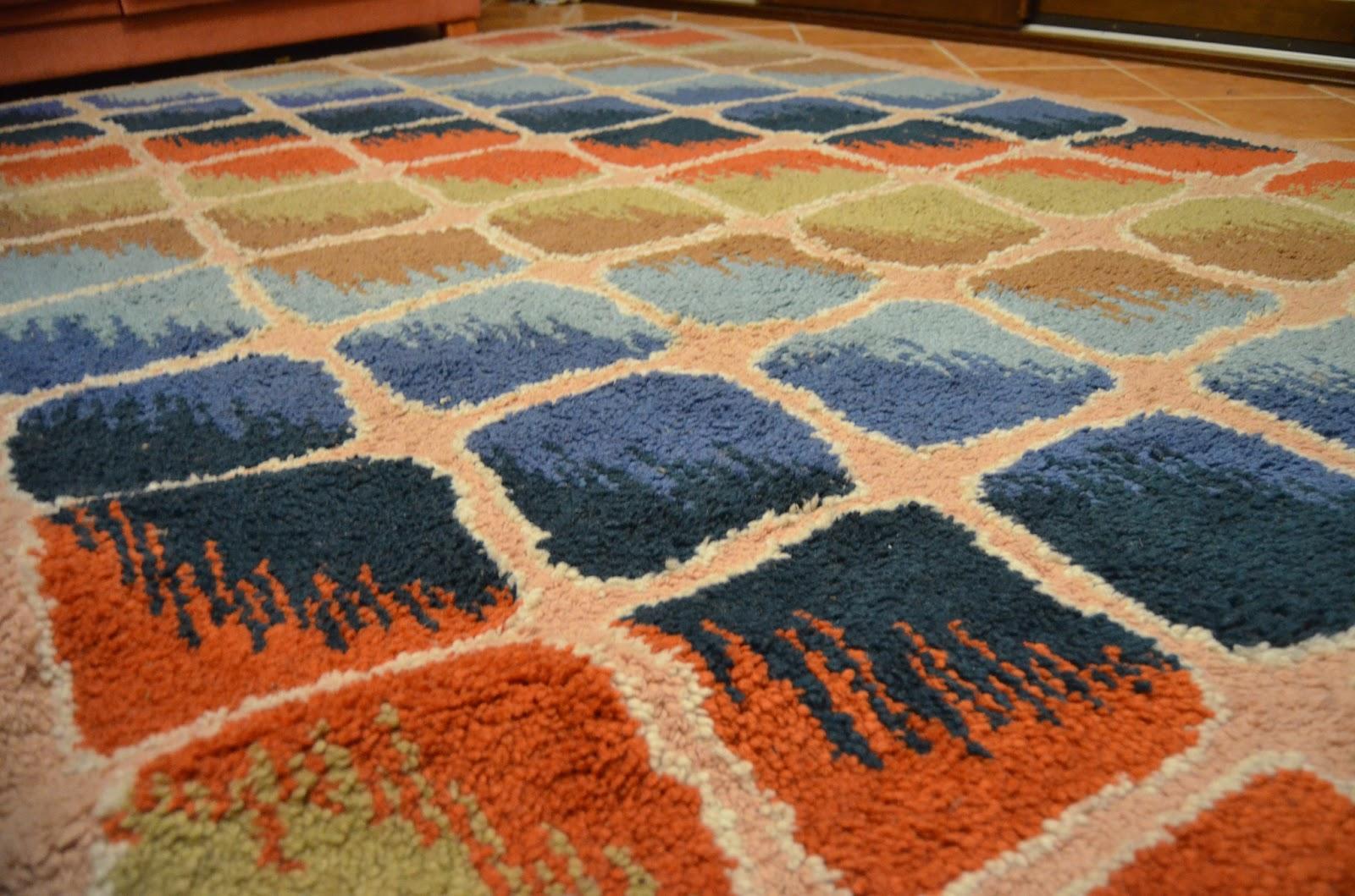 Alfombras y tapices alfombras cuadros de colores for Alfombras de colores