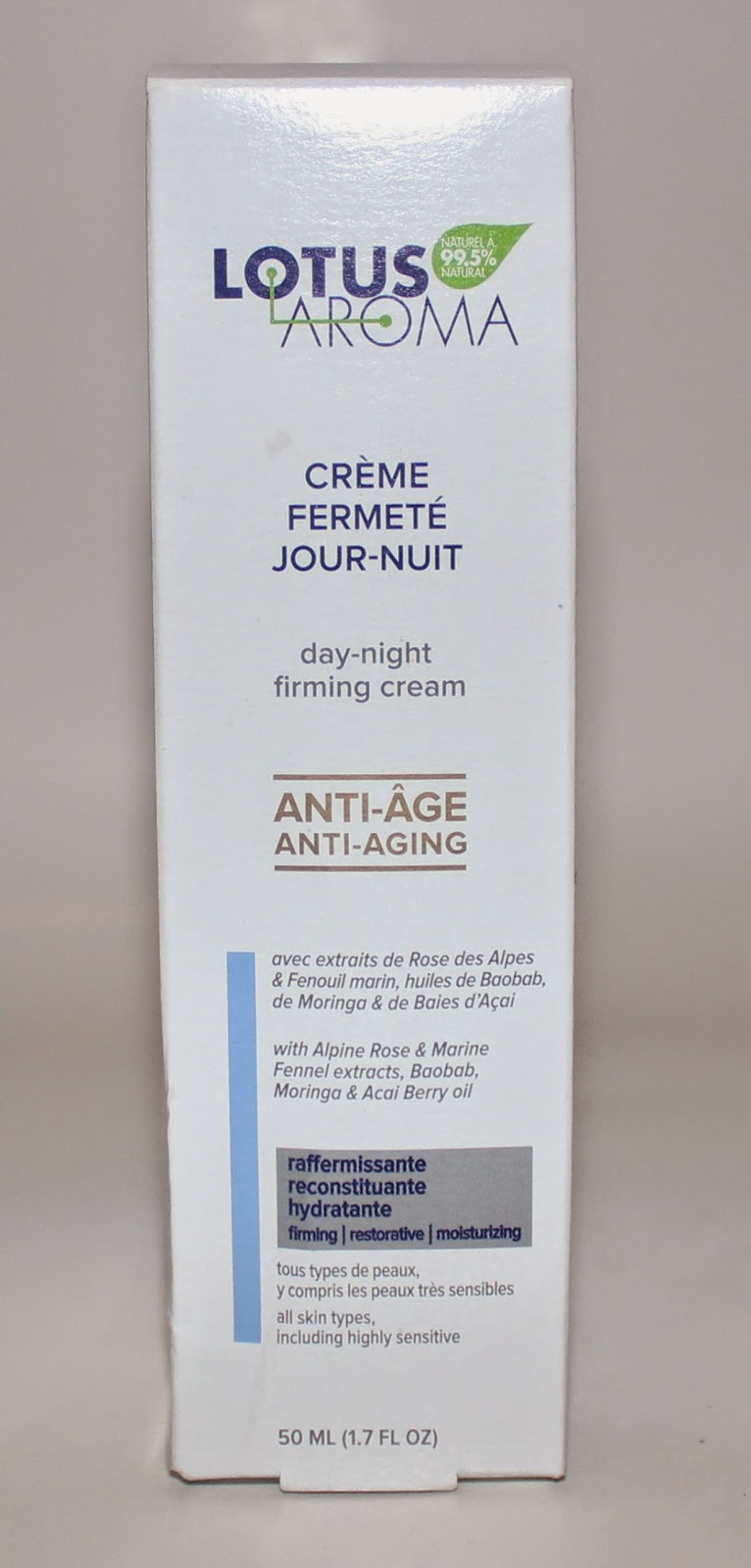 Lotus Aroma Day-Night Firming Cream