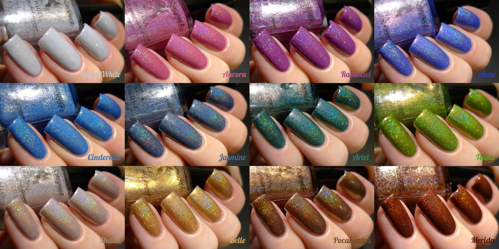 F.U.N Lacquer Princess 2.0 collage