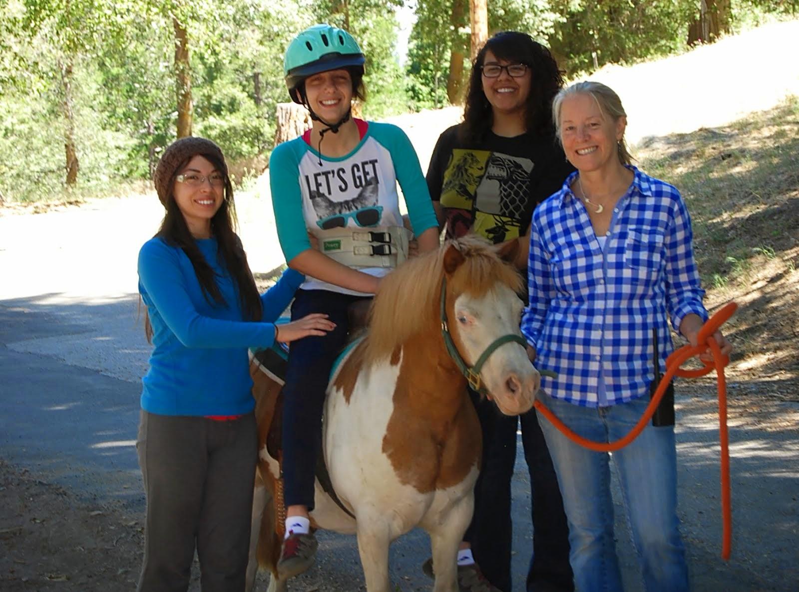 Camp Paivika Horseback Riding