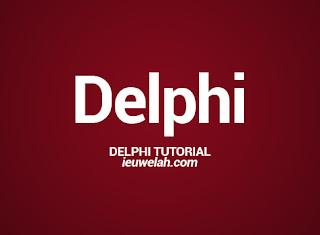 delphi tutorial ieuwelah