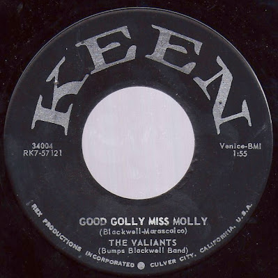 The Valiants (Bumps Blackwell Band) - Good Golly Miss Molly