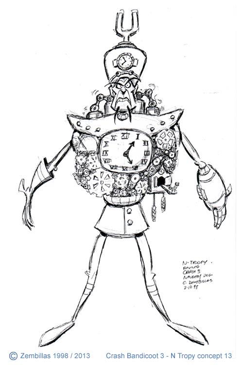 Charles Zembillas Crash Bandicoot Origin Of N Tropy