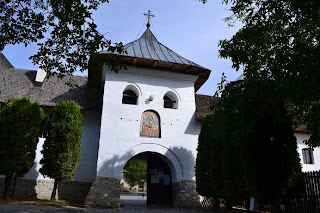 Polovragi Monastery - The bell tower, photo