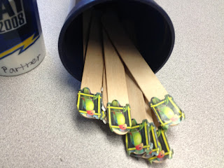 Talking Sticks - Kindergarten Partner Talk