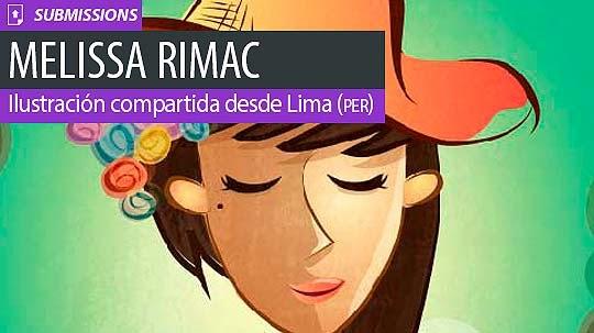 Ilustración. Miss de MELISSA RIMAC VILLA aka MERIVI