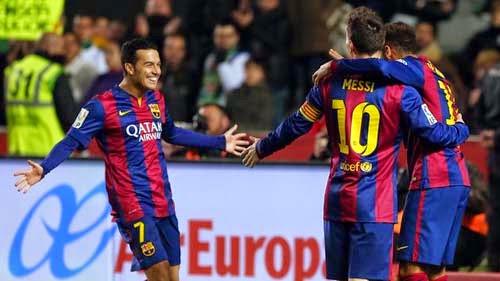 Elche CF vs. FC Barcelona 0-6 Highlight Goal Liga BBVA 24-01-2015