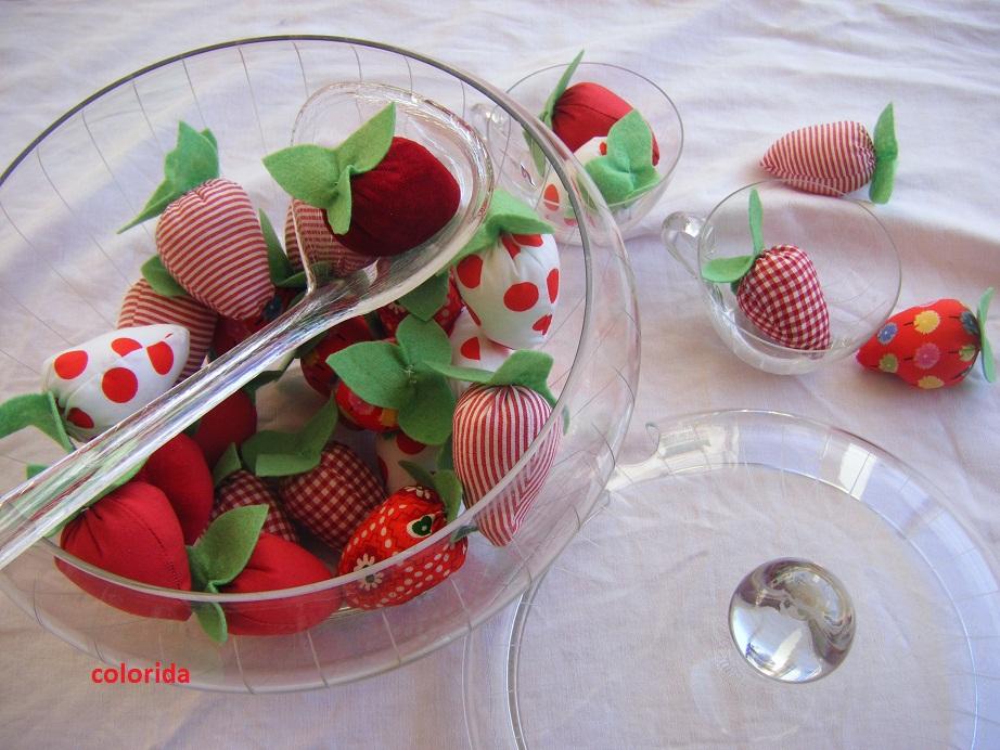 Meine erdbeerbowle for Dekoration erdbeeren