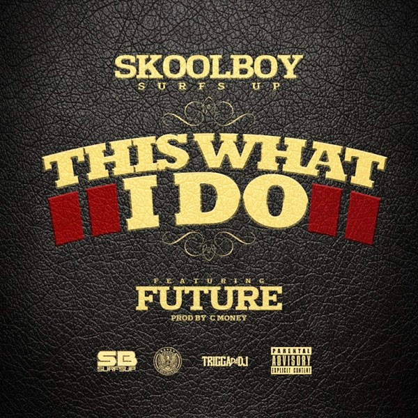 SkoolBoy SurfsUp - This What I Do (feat. Future) - Single Cover