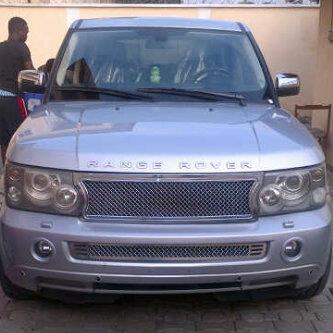 Iyanya's Newly Acquired 12 Million Naira Range Rover Jeep