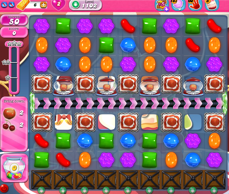 Candy Crush Saga 1102