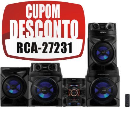Cupom Efácil - Mini System Sony Genezi MHC-GTR888 1.200W RMS
