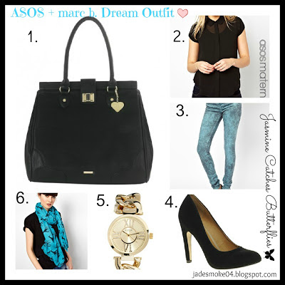 ASOS + marc b. Dream Outfit by Jasmine Catches Butterflies